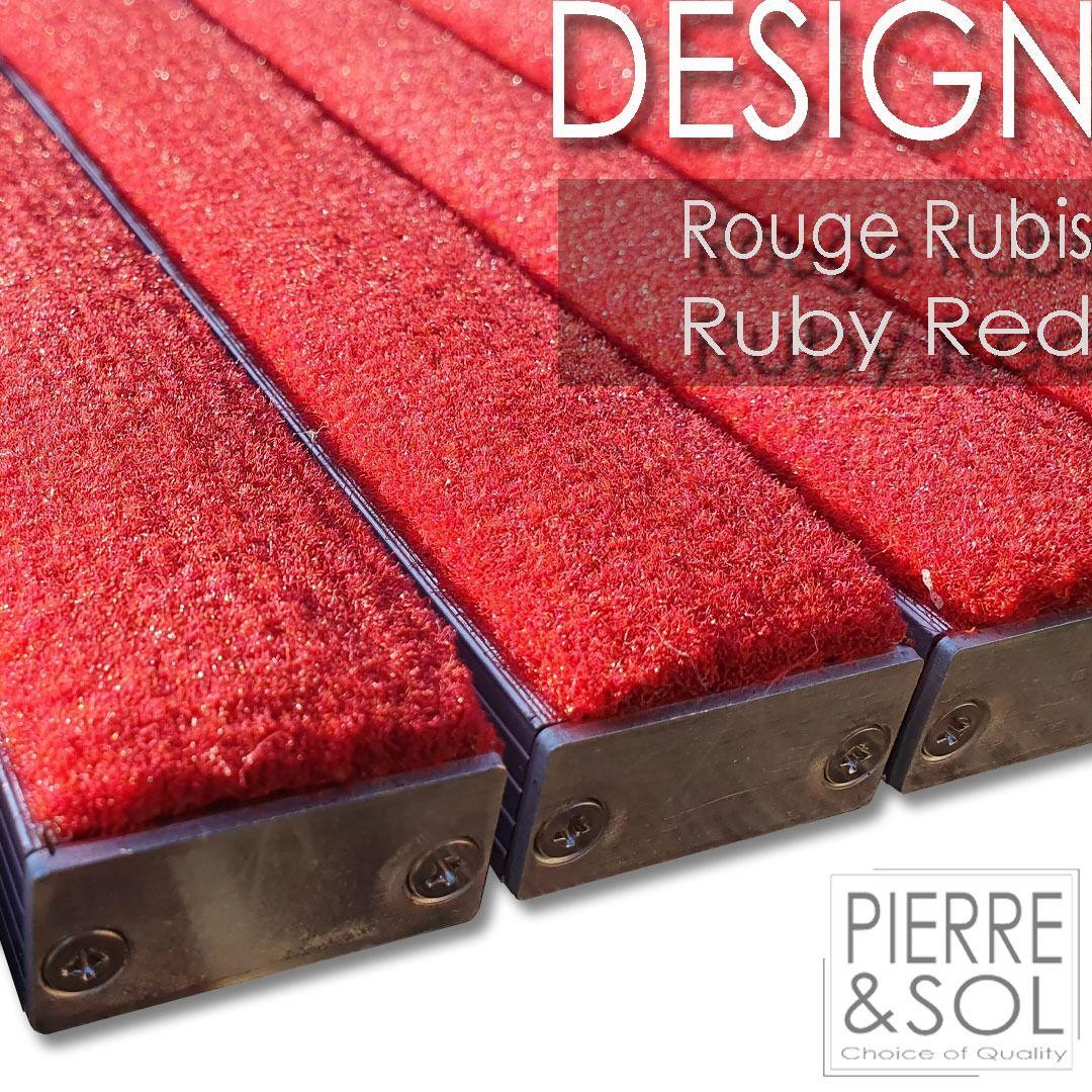 Paillasson Design L Epaisseur 25 Mm Sur Mesure Cleanmid Light Verimpex Paillasson Design Paillasson Epaisseur