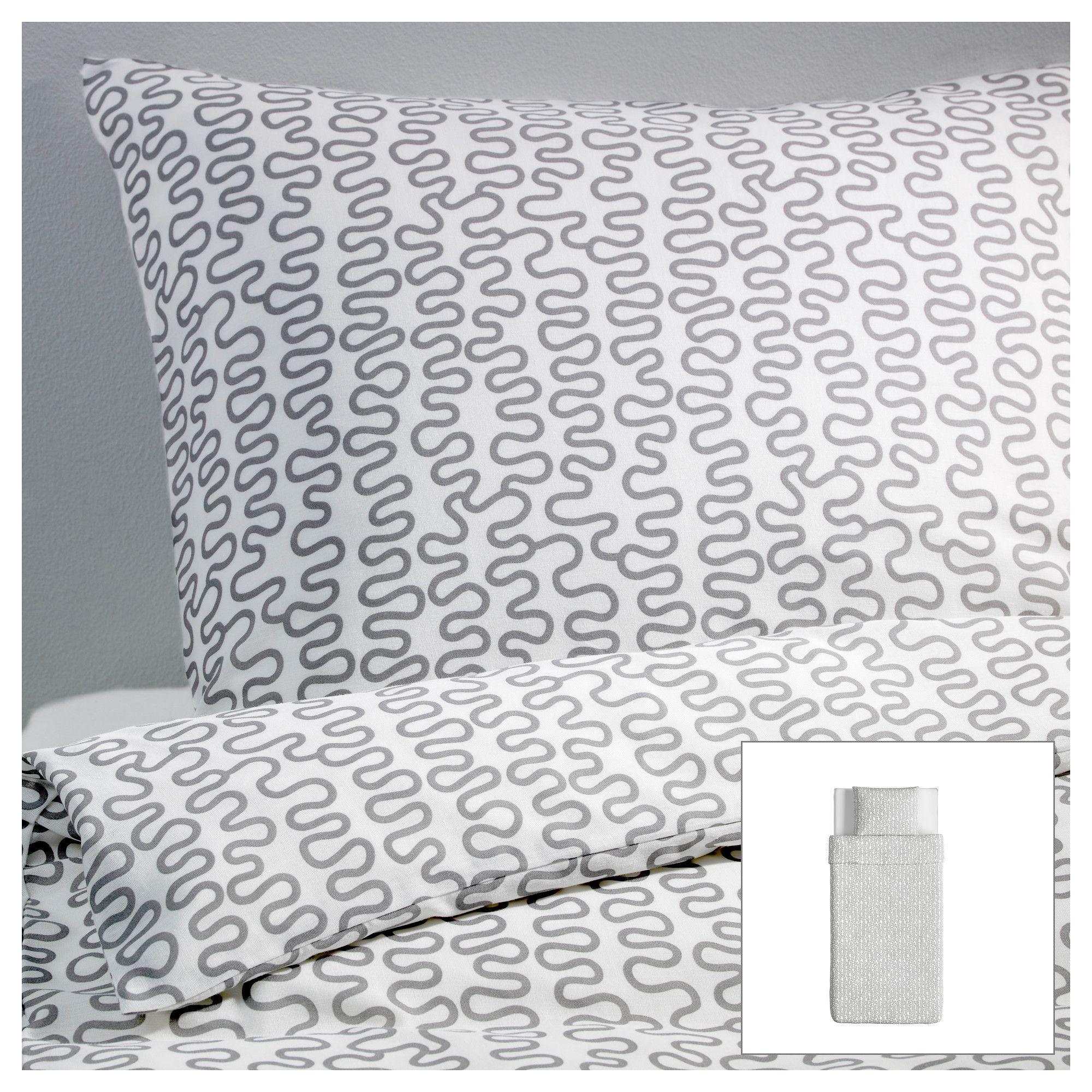 KR…KRIS Pussilakana 1 tyynyliina 150x200 50x60 cm IKEA