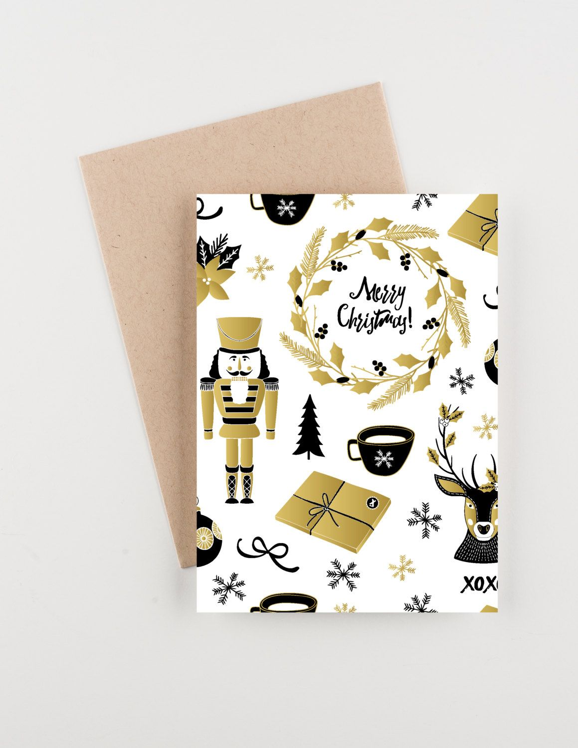 Christmas time holiday 2015 christmas and new years greetings card christmas time holiday 2015 christmas and new years greetings card by seahorsebendpress on etsy m4hsunfo