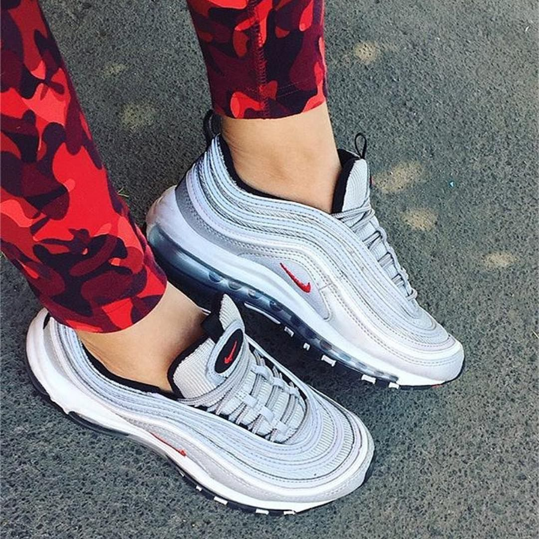 Cheap Nike Air Max 97 Premium Tape QS (Metallic Silver) END.