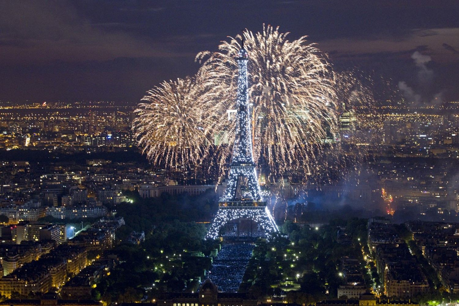 bastille day fireworks youtube