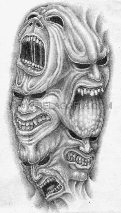 Pin En Skull Tattoo