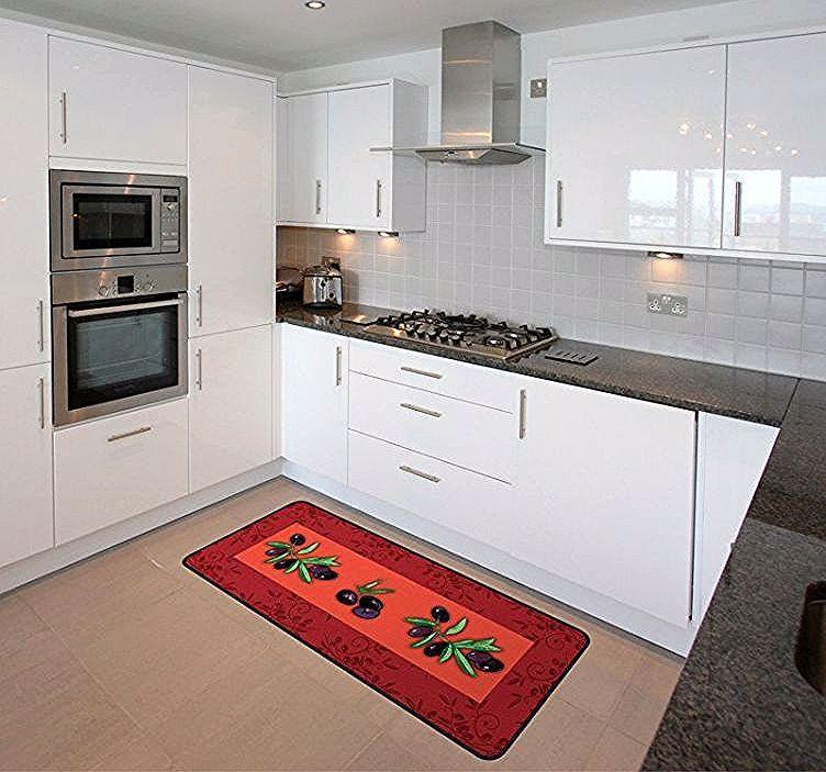 Comment Choisir Un Tapis De Cuisine For Tapis De Cuisine Grande Longueur In 2020 Dining Room Interiors Kitchen Cabinets Kitchen