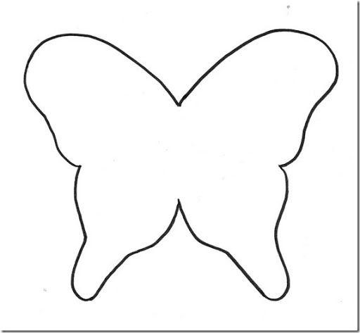 Como Hacer Mariposas De Papel Para Colorear