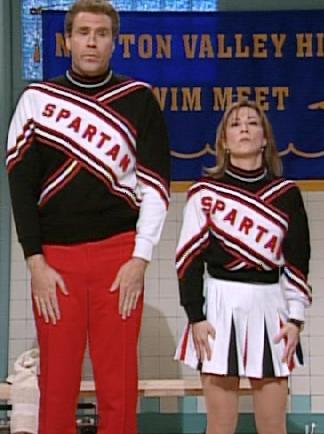Snl Will Ferrell Spartan Cheerleader Skit