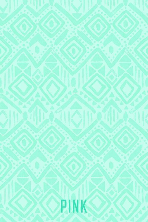 Cute Turquoise Pattern