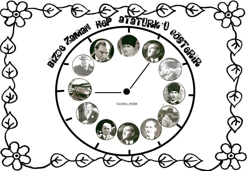 10 Kasim Ataturk U Anma Gunu Faaliyetler Boyama Kitaplari Boyama Sayfalari