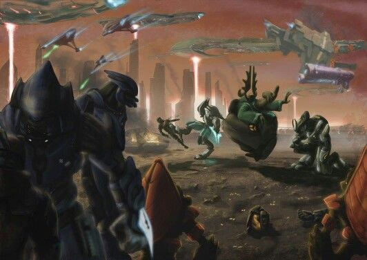 Covenant victory, humans never stood a chance at reach
