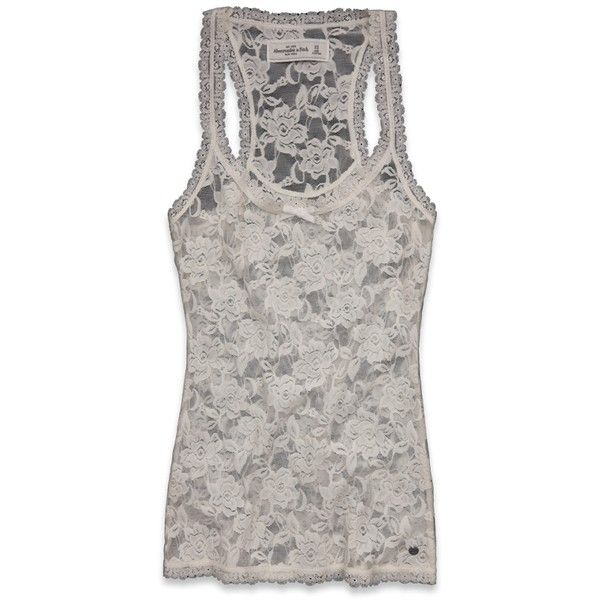 83ed328784c Abercrombie & Fitch Mia ($14) found on Polyvore Bow Tank Tops, See Through