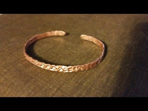 How To Make Bracelet Out Of Copper Pipe Tubing Watch