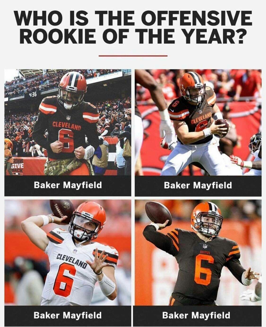 Pin By Cheryl Stange On Cleveland Browns Cleveland Browns History Baker Mayfield Baker Mayfield Nfl