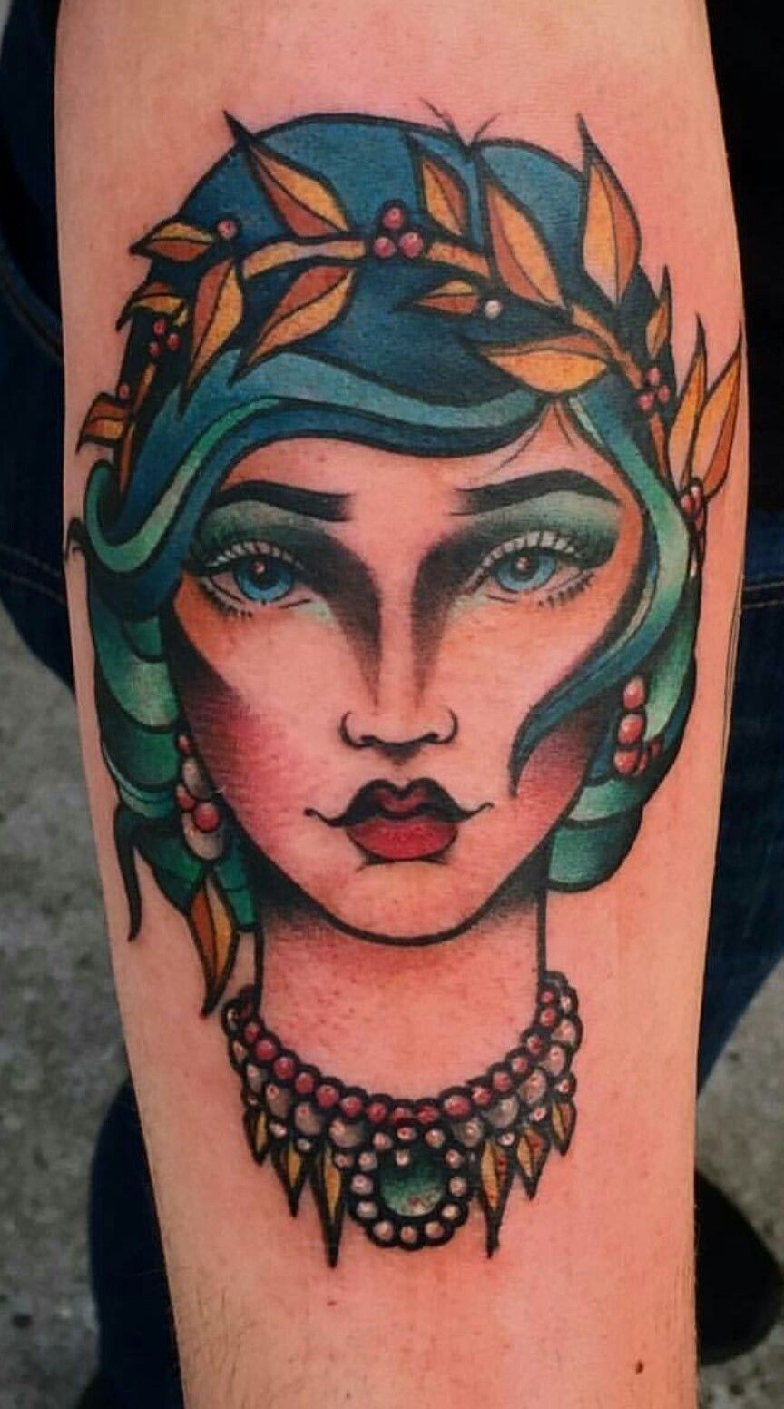 Neo Traditional Mermaid Tattoo: Neo Traditional Mermaid By Karissa Anne At Fast Times