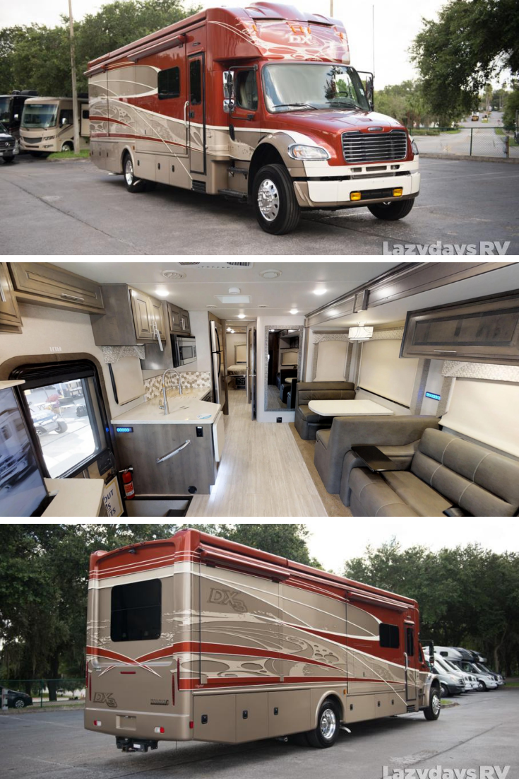 This luxurious Class C motorhome is currently for sale at