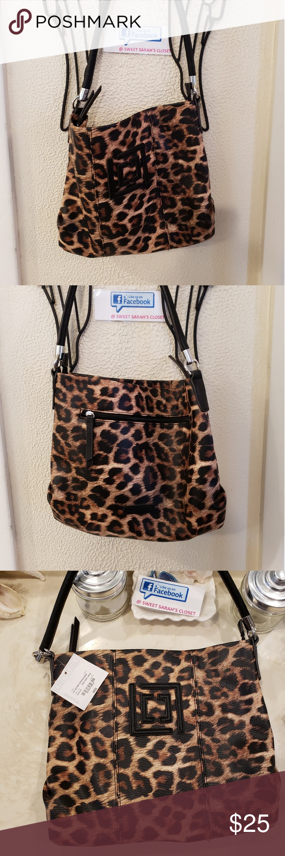 Sale Nwt Leopard Print Liz Clairborn Purse Leopard Purse Purse Brands Purses Create an account or log into facebook. pinterest