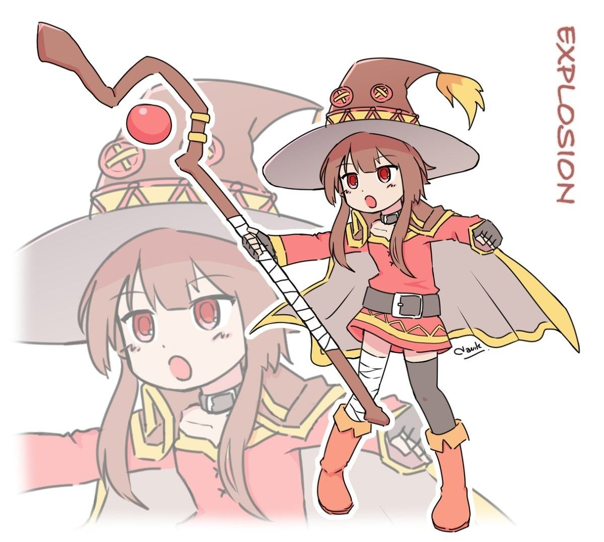 Pin by LoneRifter on Konosuba Anime funny, Chibi, Anime