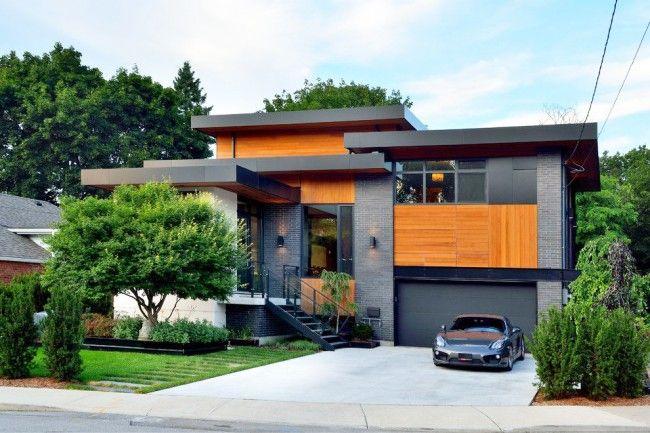 HappyModern.RU | 65 идей кирпичных домов (фото, проекты): классика частного домостроения | http://happymodern.ru