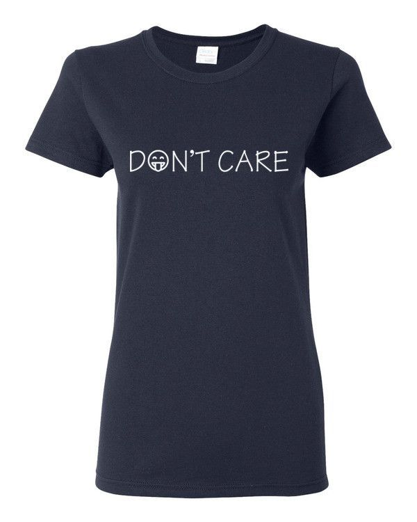 Don't Care classic fit t-shirt