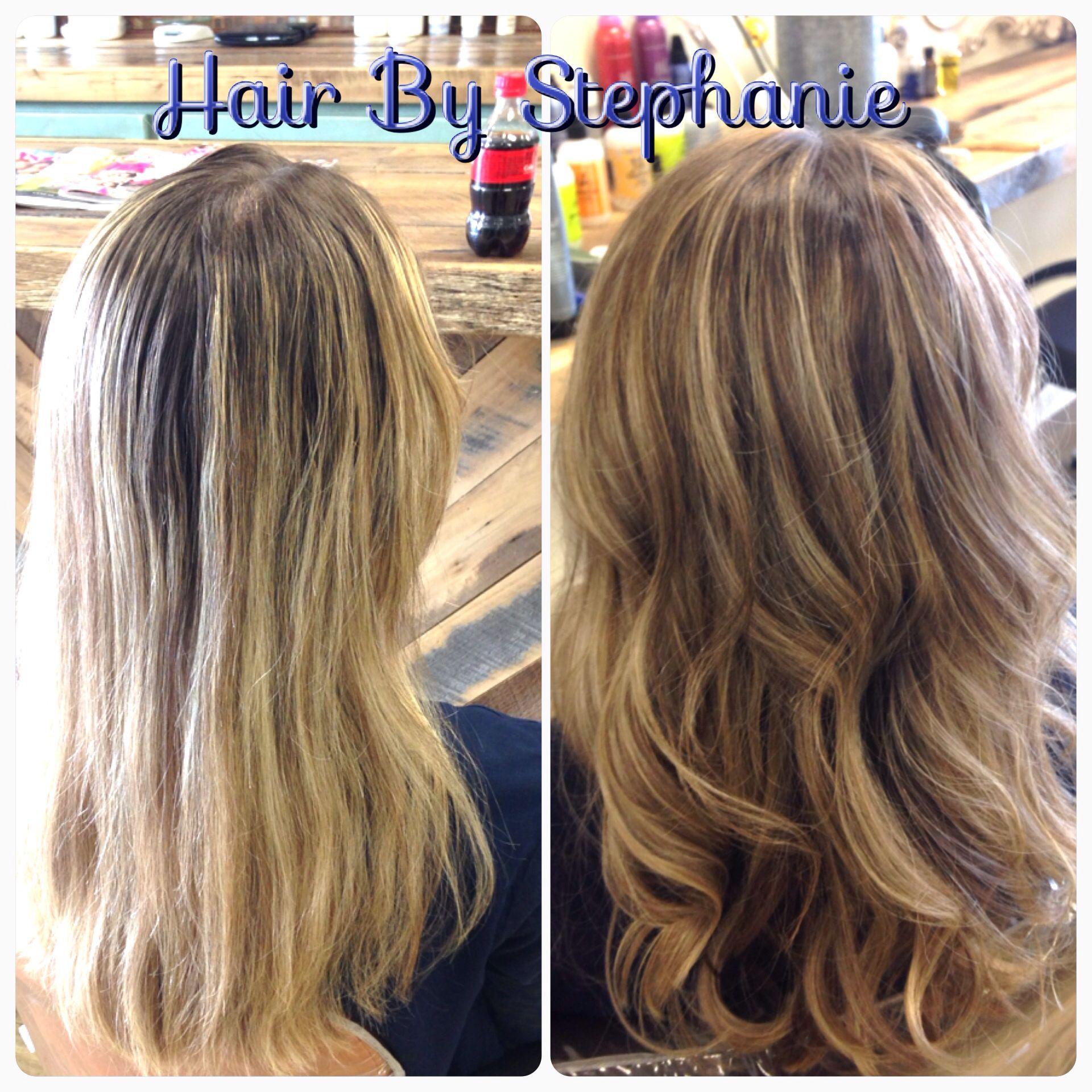 Custom Color Placement Avedahaircolor Blonde Lux Hair