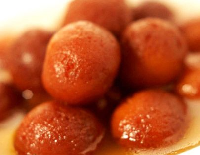 Instant Gulab jamuns, an Indian sweet, made by Chef Sanjeev Kapoor