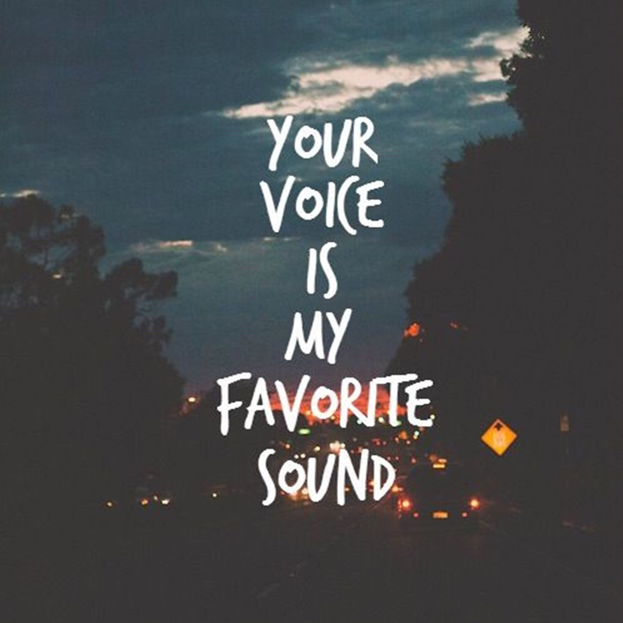 And i die to hear it. The day i hear your voice are my favorite days❤️