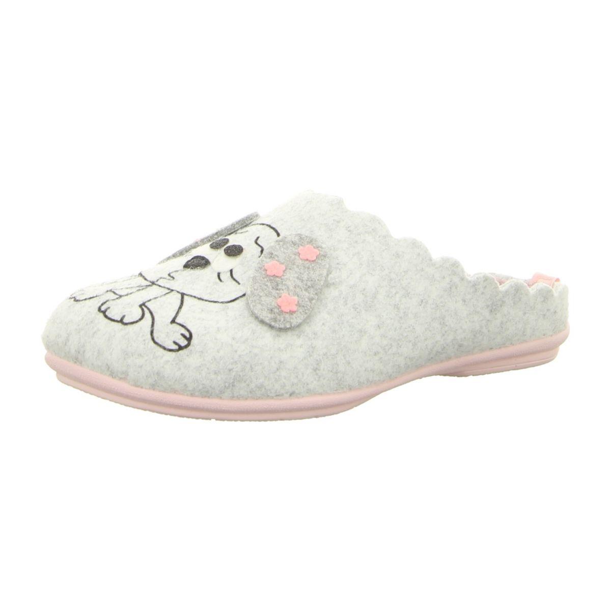 NEU: Manitu Hausschuhe 320507 9 grau   Schuhe damen