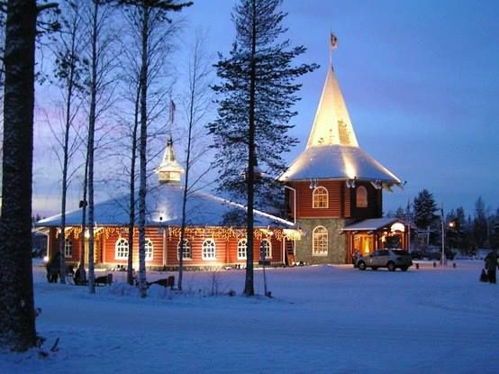 Rovaniemi Finlandia Villaggio Di Babbo Natale.Villaggio Di Babbo Natale Rovaniemi Finlandia Babbo Natale Finlandia Case