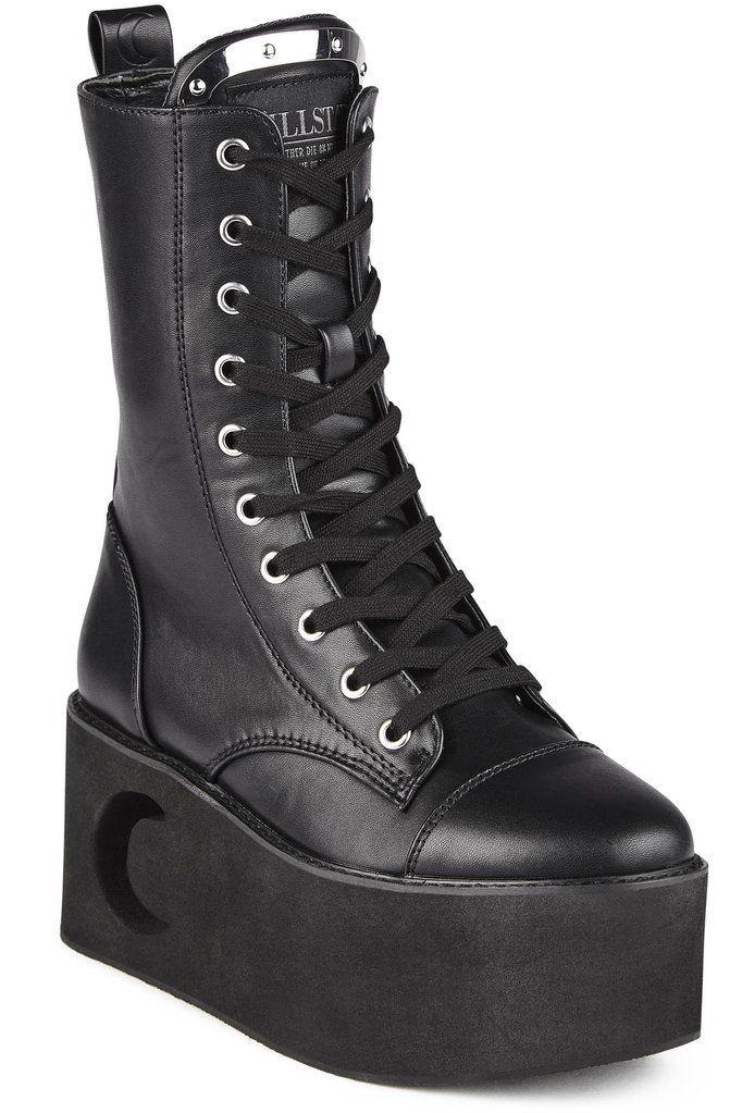 Eternal Eclipse Platform Boots [B] | Bodies, Leather and Alternative fashion