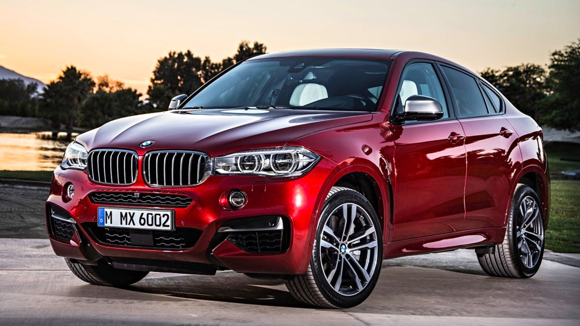All New BMW X6 Interior Design Driving