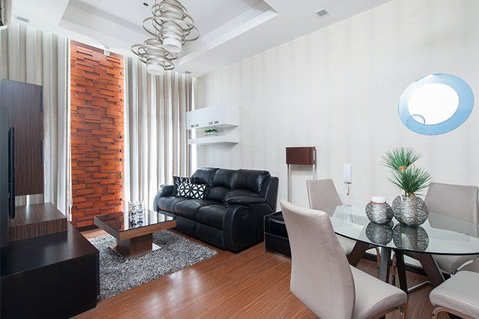 Small Space Solutions For A 40sqm Condo In Makati Small Spaces Condo Interior Design Condo Interior