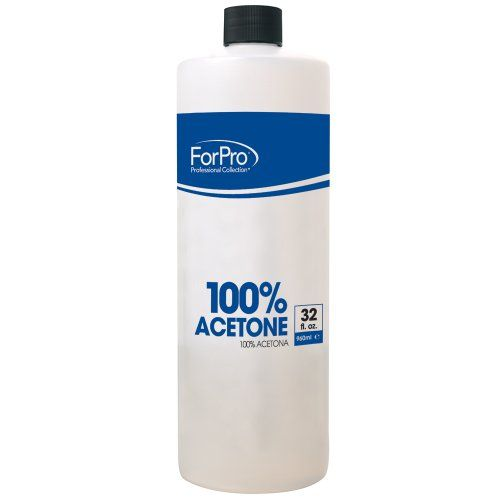 For Pro 100 Pure Acetone Remover 32 Acetone Nail Polish Remover Gel Remover