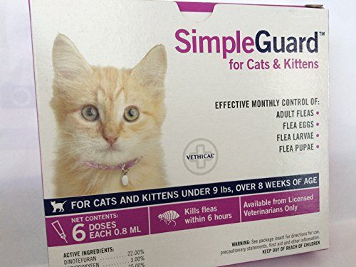 Simpleguard For Cats And Kittens Under 9lbs Be Sure To Check