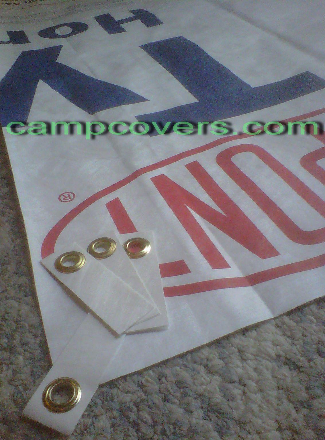 Tyvek Ground Cloth Sheet Tent Footprint 52x90 In W 6 Ultralight Grommet Tabs Tent Footprint Sheet Tent Tyvek