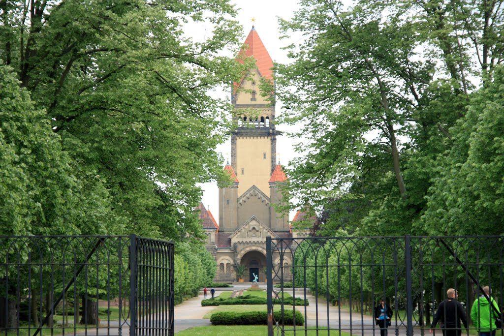 Kapelle am Südfriedhof Leipzig