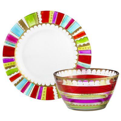 Festive Stripes Dinnerware