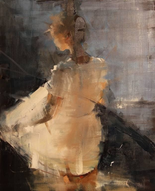 "Artist: Fanny Nushka; Oil 2014 Painting ""Summer Colors, 2014"""