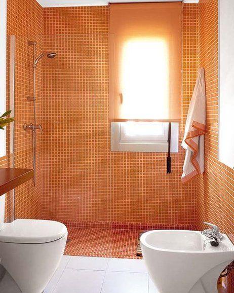 Baños con ducha: ¡ideales! | Baños | Baños pequeños, Cuartos ...