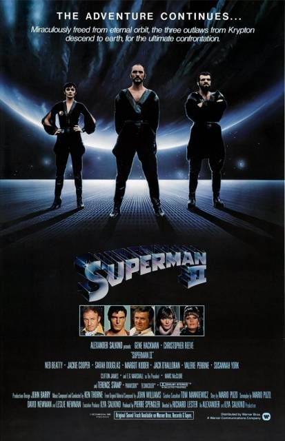 """""""Superman II"""" directed by Richard Lester and Richard Donner / 3rd grossing film in 1981."""