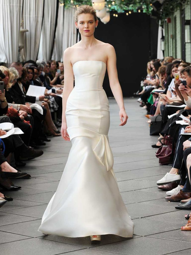 See Nouvelle Amsale Wedding Dresses From Bridal Fashion Week