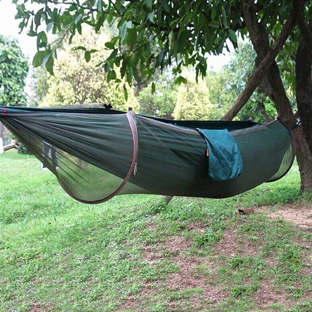 hammock tarp parachute camping hammock   with mosquito  ting   camping      rh   pinterest