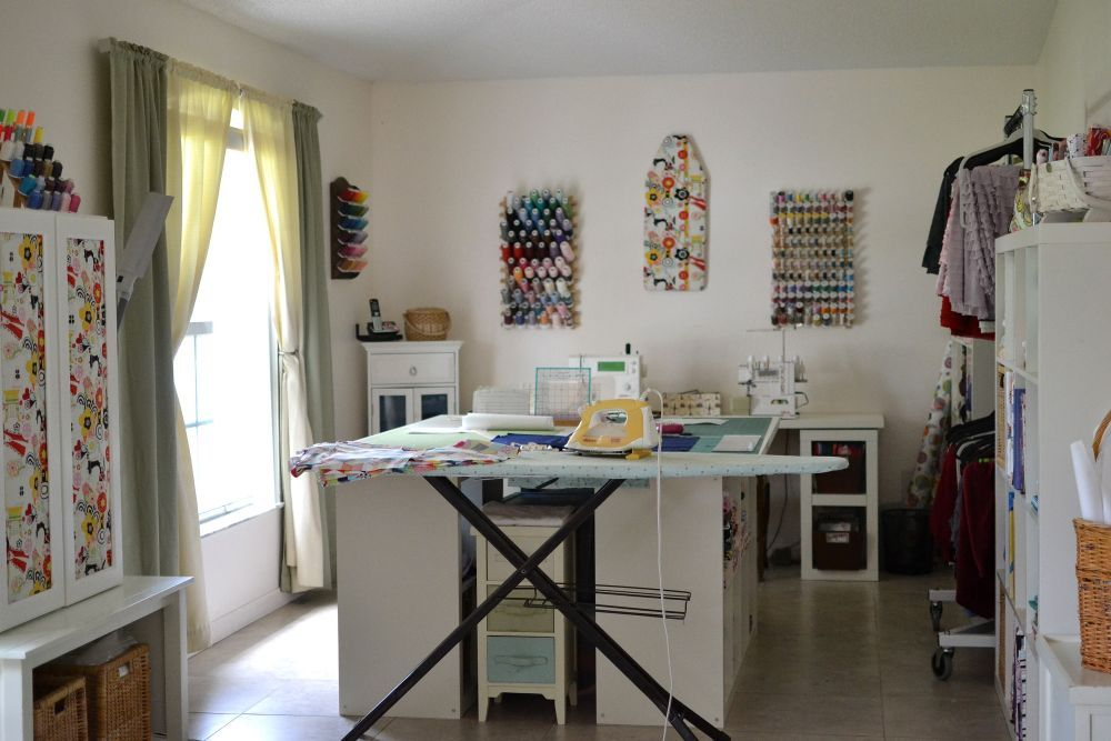 Amazing Show Off Saturday: See My New Sewing Studio!