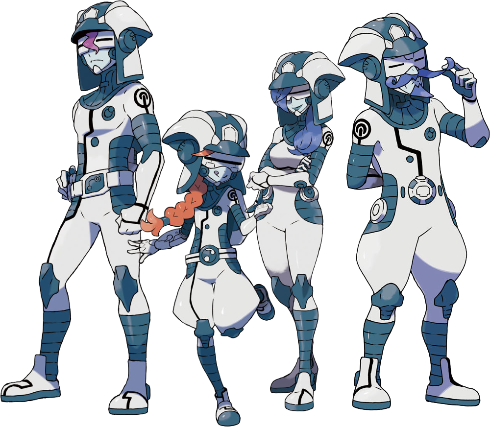 Ultra Recon Squad From Left To Right Dulse Zossie