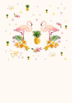 Flamingo Party - Free Printable BBQ Party Invitation Template - bbq invitation template