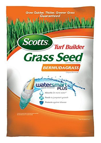 Scotts Turf Builder Grass Seed Bermudagrass 15 Pound Sold In