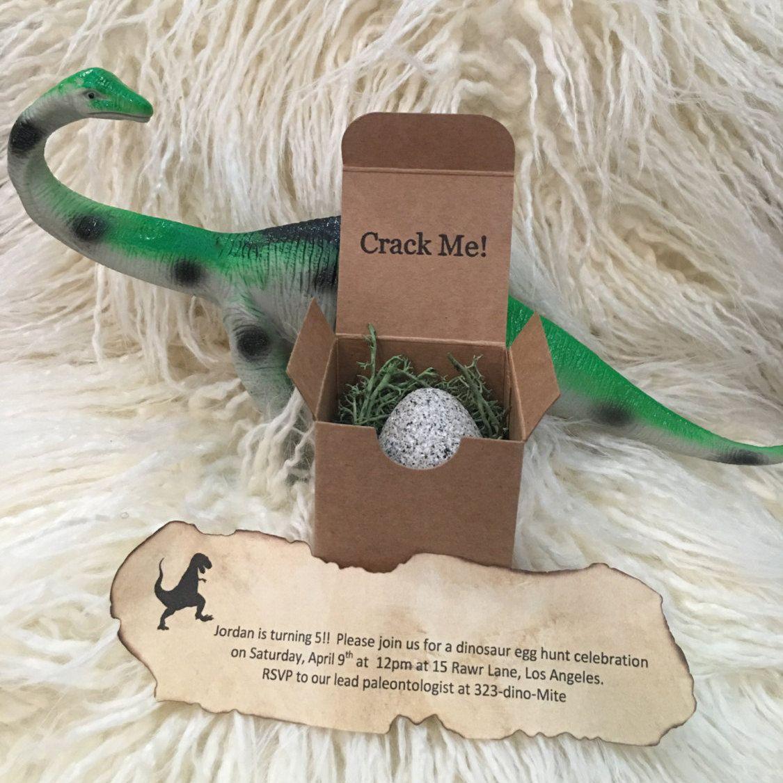 Invitation With Plastic Egg For Dinosaurs Orderecigsjuice