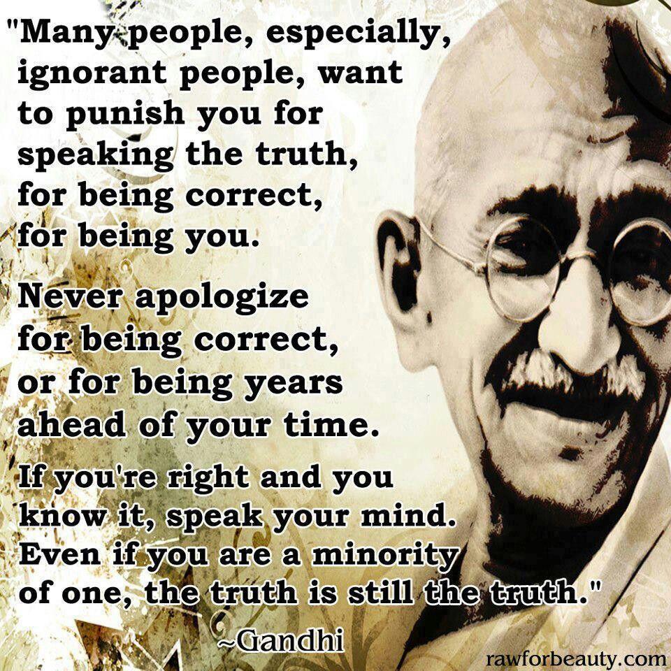 Gandhi!