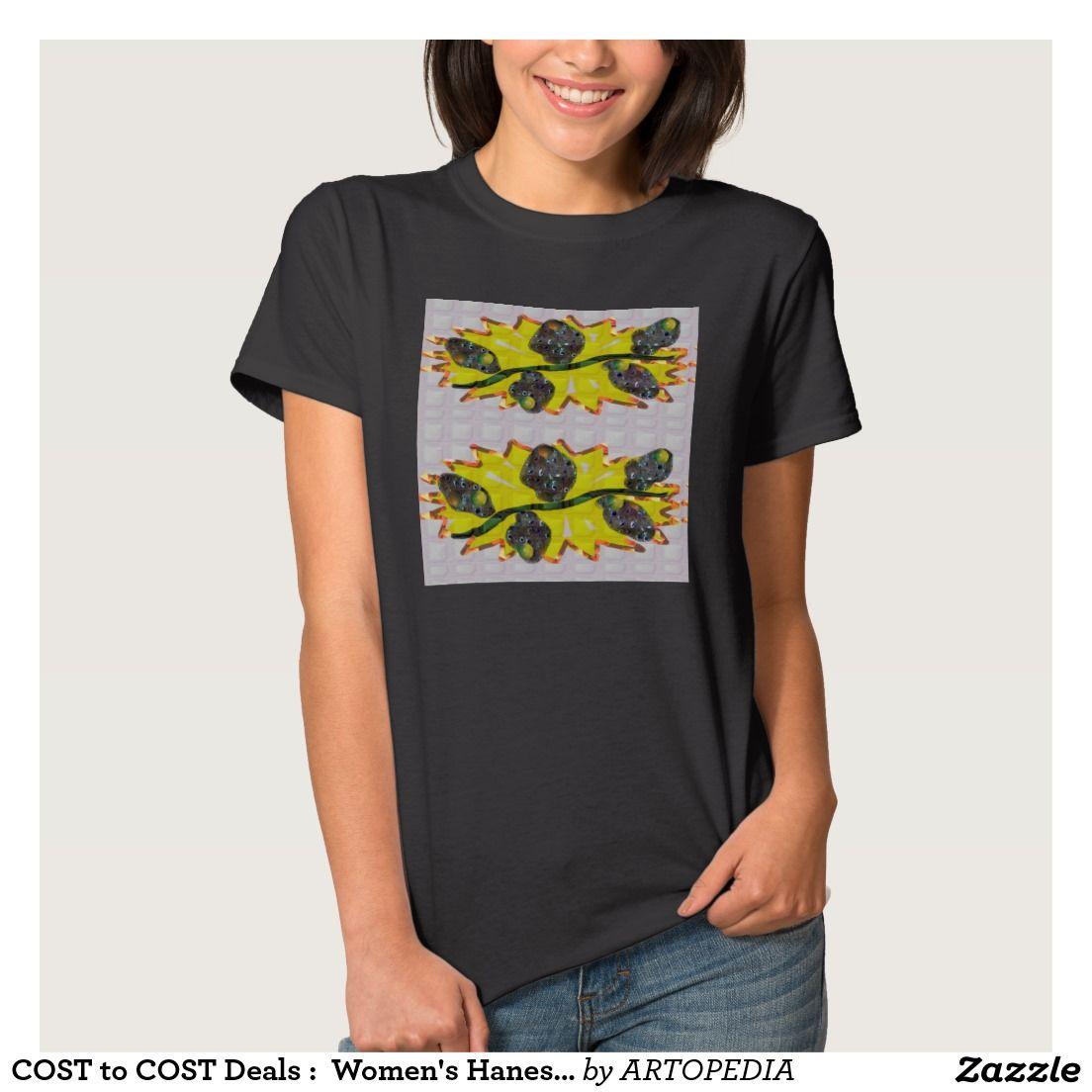 COST to COST Deals :  Women's Hanes ComfortSoft® T T-Shirt