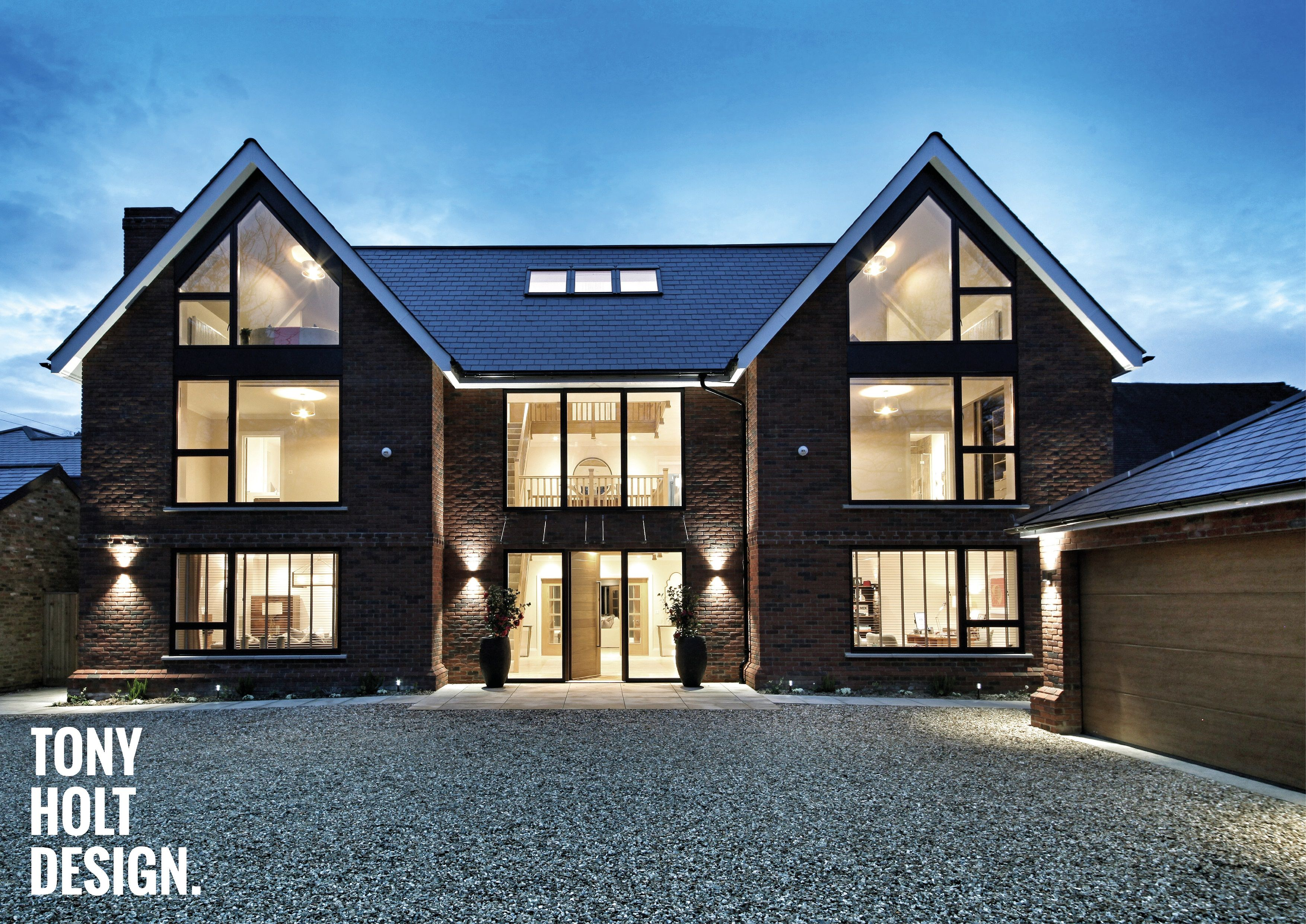 Tony Holt Design Self Build New Build In Berkshire Luxury House Designs Self Build Houses Contemporary House Design