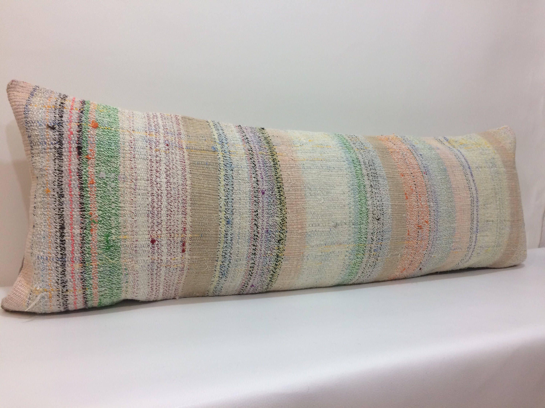 Astounding Natural Cotton Pillow 14X40 Pillow Cover Extra Lumbar Pillow Short Links Chair Design For Home Short Linksinfo