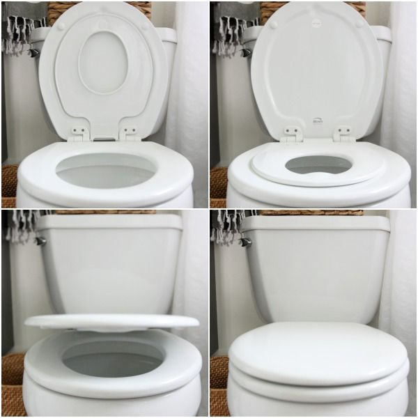 Slow Closing Potty Lid Bemis 583slow Round Toilet Seat With