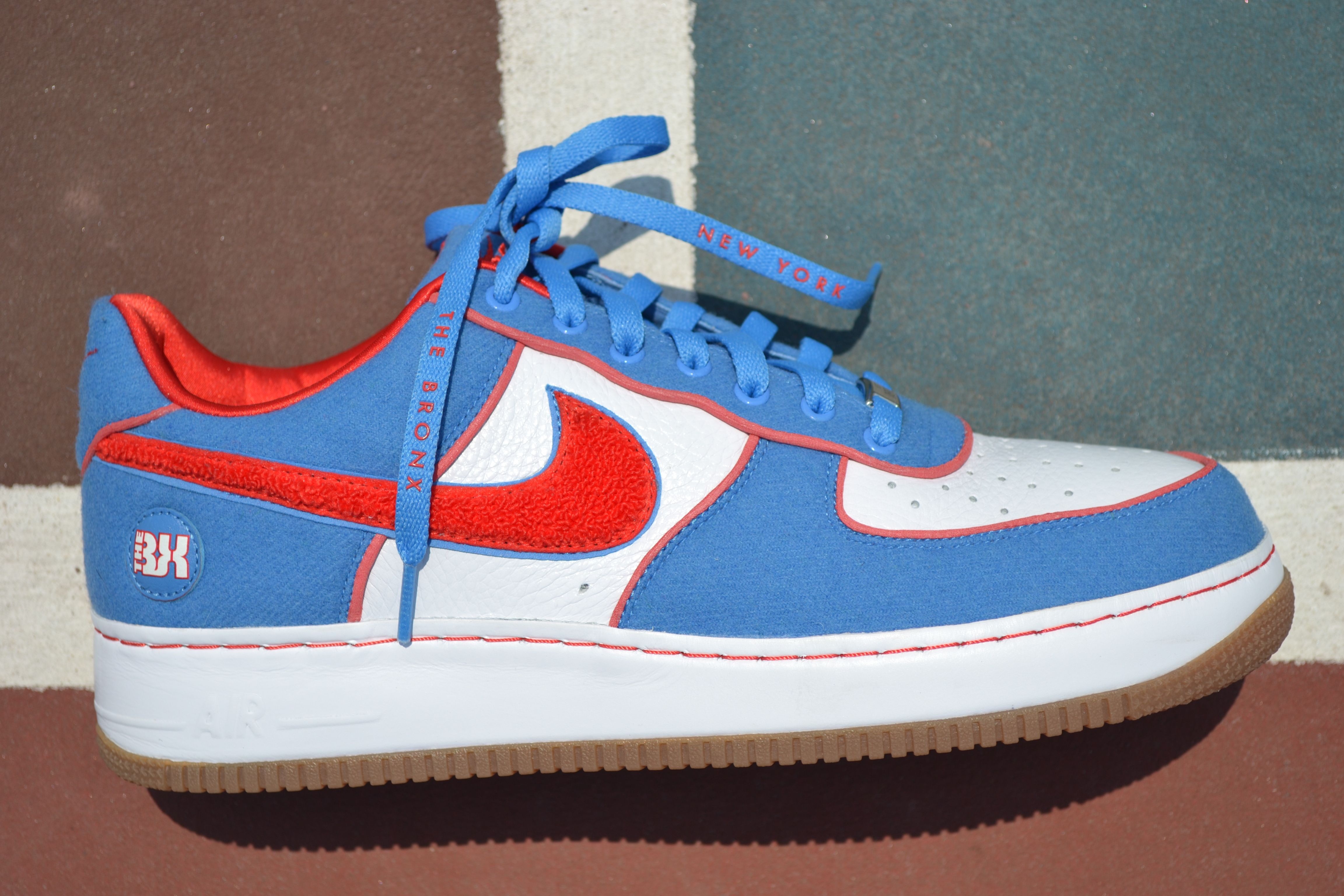 Nike Air Force 1 Bronx Borough Edition (BE) (With images